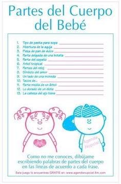 4 Info Ideas Juegos De Baby Shower Que Dice Respuestas Pdf Doc 2019