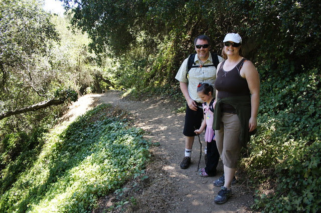 hiking with the Johnsons
