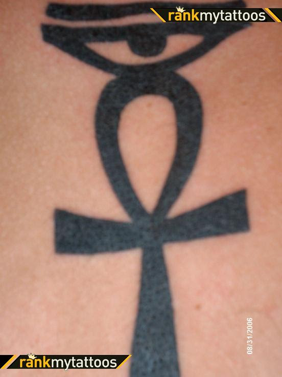Ankh And Eye Of Ra Horus Ankh Tattoo Tattoomagz