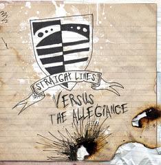Straight Lines - Versus The Allegiance - Front