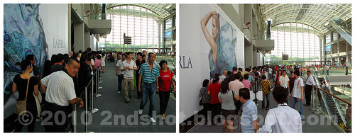 Marina Bay Sands Casino Visitor Queue