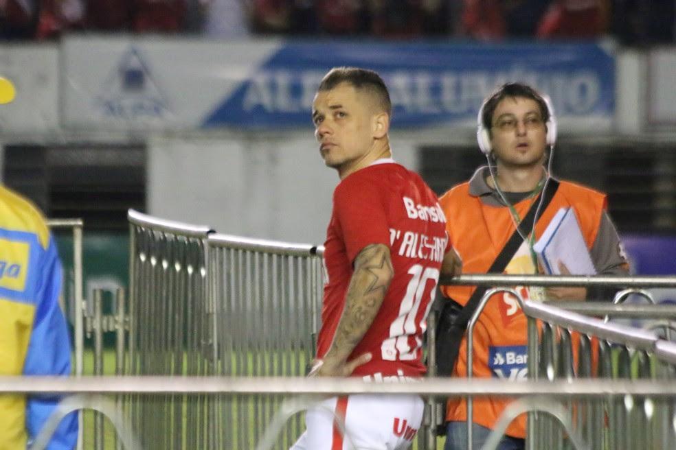D'Alessandro espera grupo focado para a disputa da Série B (Foto: Diego Guichard)