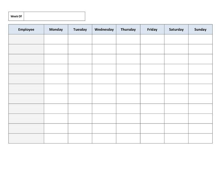 1000+ ideas about Daily Schedule Template on Pinterest | Daily ...