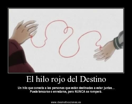 La Leyenda Del Hilo Rojo Del Destino Anime Amino