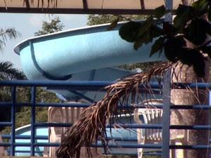 Criança morre após se afogar na piscina da Sociedade Hípica de Campinas  (Foto: Reprodução / EPTV)