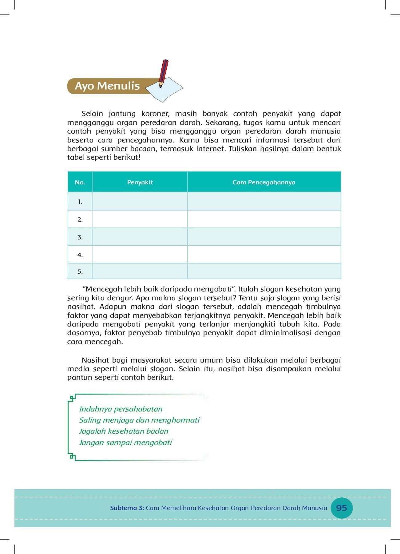 Kelas V Tema 4 Bs Pages 101 150 Text Version Fliphtml5