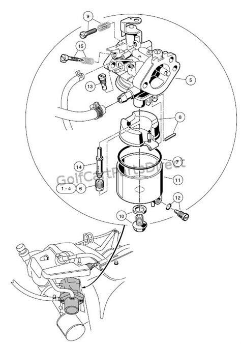 Carburetor - FE350 - Club Car parts & accessories
