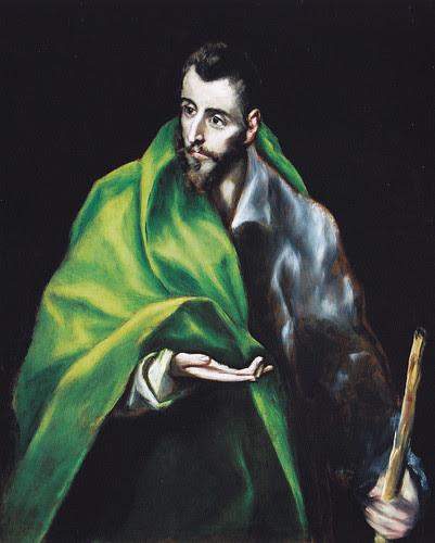 Santiago el Mayor. Obra de El Greco