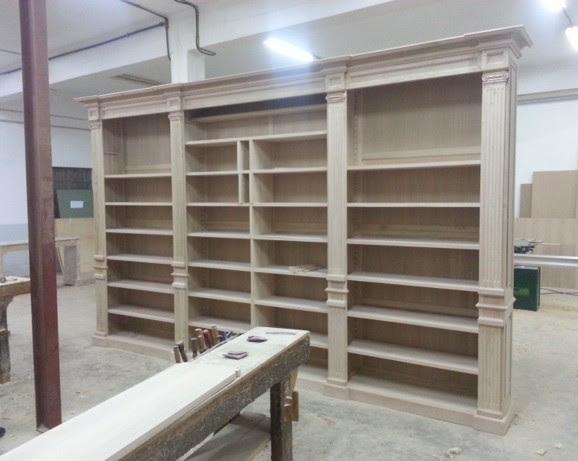 arredamenti librerie in legno