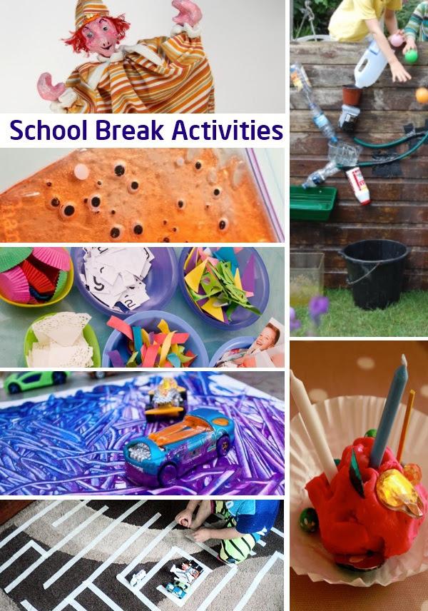 Kids days school break activities