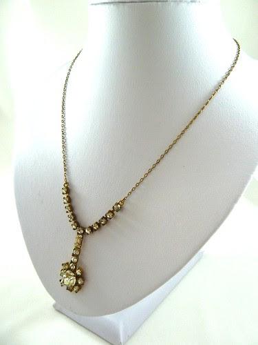 40s Diamante Chain Neckalace
