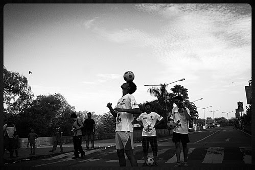 The Football Marathon Shot By Marziya Shakir 4 Year Old - Carter Road Bandra by firoze shakir photographerno1