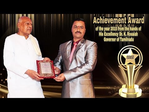 Ramya Modular Kitchen And Interiors | Received the Achivement Award of t...