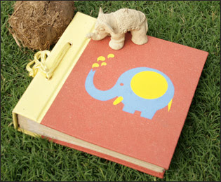 Elephant Poo Paper Photo Albums from Haathi Chaap