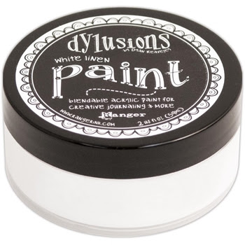 Ranger Dylusions Paint WHITE LINEN DYP46059