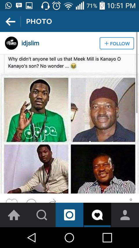 Resemblance Between Meek Mill And Kanyo O Kanyo (pics)