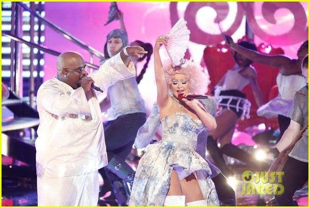 The Voice (November 2012), Christina Aguilera, Cee Lo Green