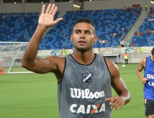 Kayke - atacante do ABC (Foto: Jocaff Souza/GloboEsporte.com)