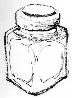 ビンの中のひそかな愉しみイラスト それは妙案黒