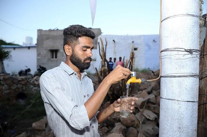 UNA TURBINA EÓLICA INDIA QUE PRODUCE TANTO ELECTRICIDAD COMO AGUA POTABLE