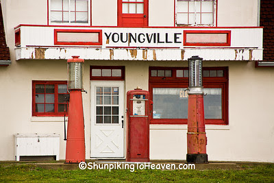 Youngville Cafe Welcome Center & Museum (Built 1931), Benton County, Iowa