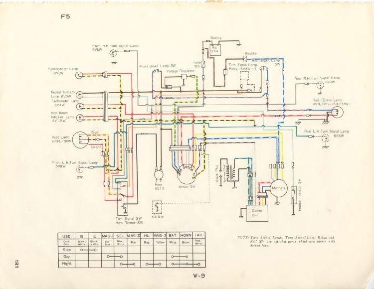 Yamaha 100 Wiring Diagram