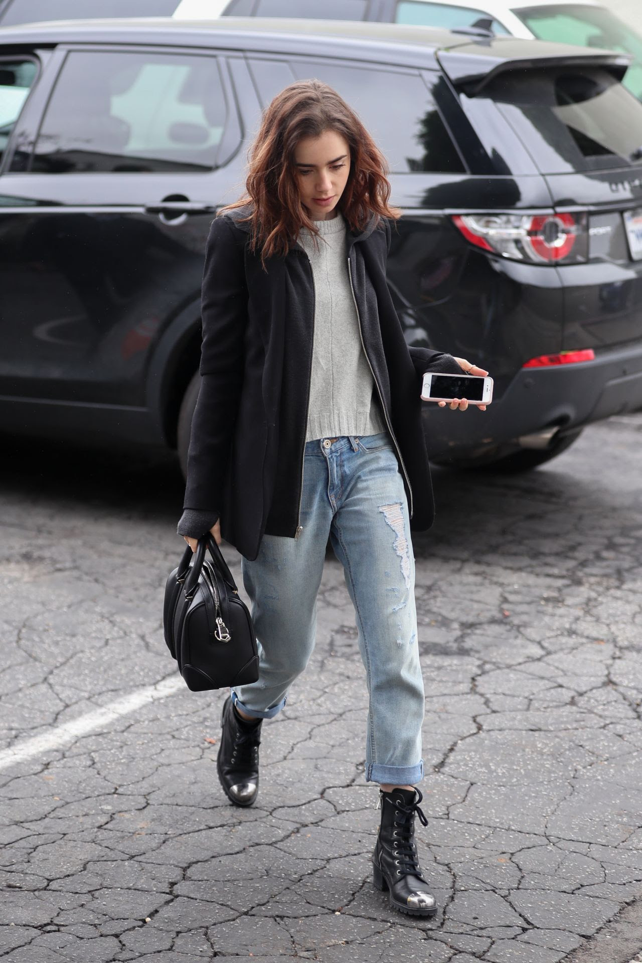 Image result for lily collins style 2017
