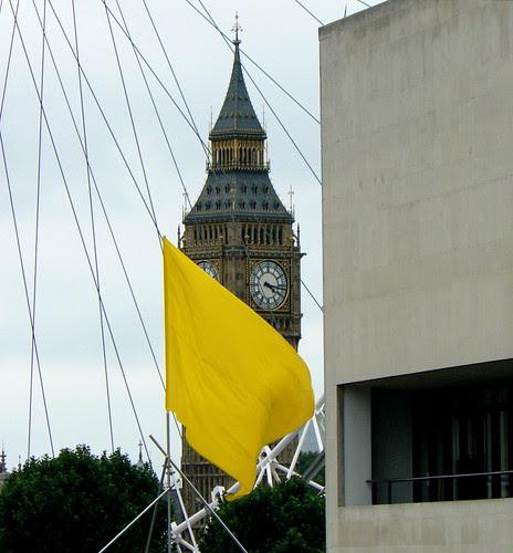 Flag & Clock