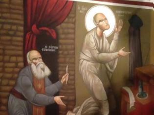 Φωτογραφία για «Βλέπει τον πατέρα Νικηφόρο να αιωρήται ως ένα μέτρο από το έδαφος με τα χέρια υψωμένα και να προσεύχεται»