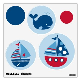 Zazzle Addicts Promotions: Boys Room Wall Decals