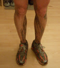 Legs after canal training run