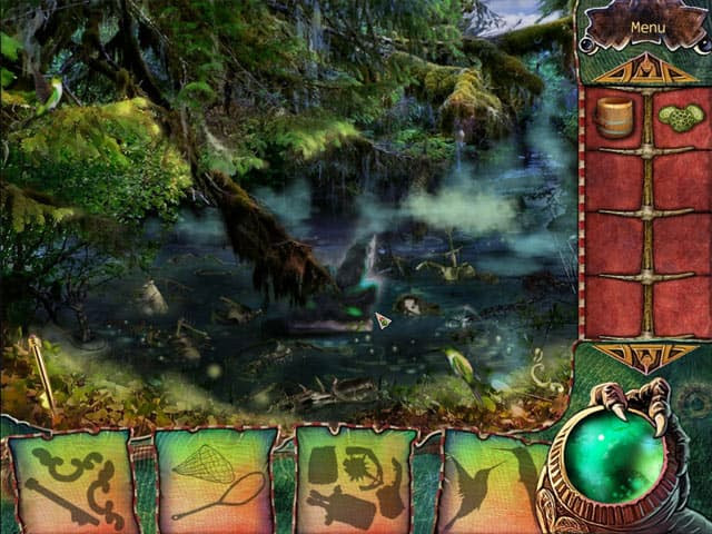 The Witchs Green Amulet Free PC Game Screenshot
