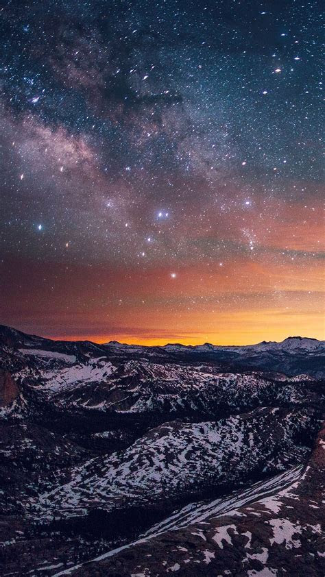 5 nouveaux fonds d'écran de montagnes pour iPhone 6