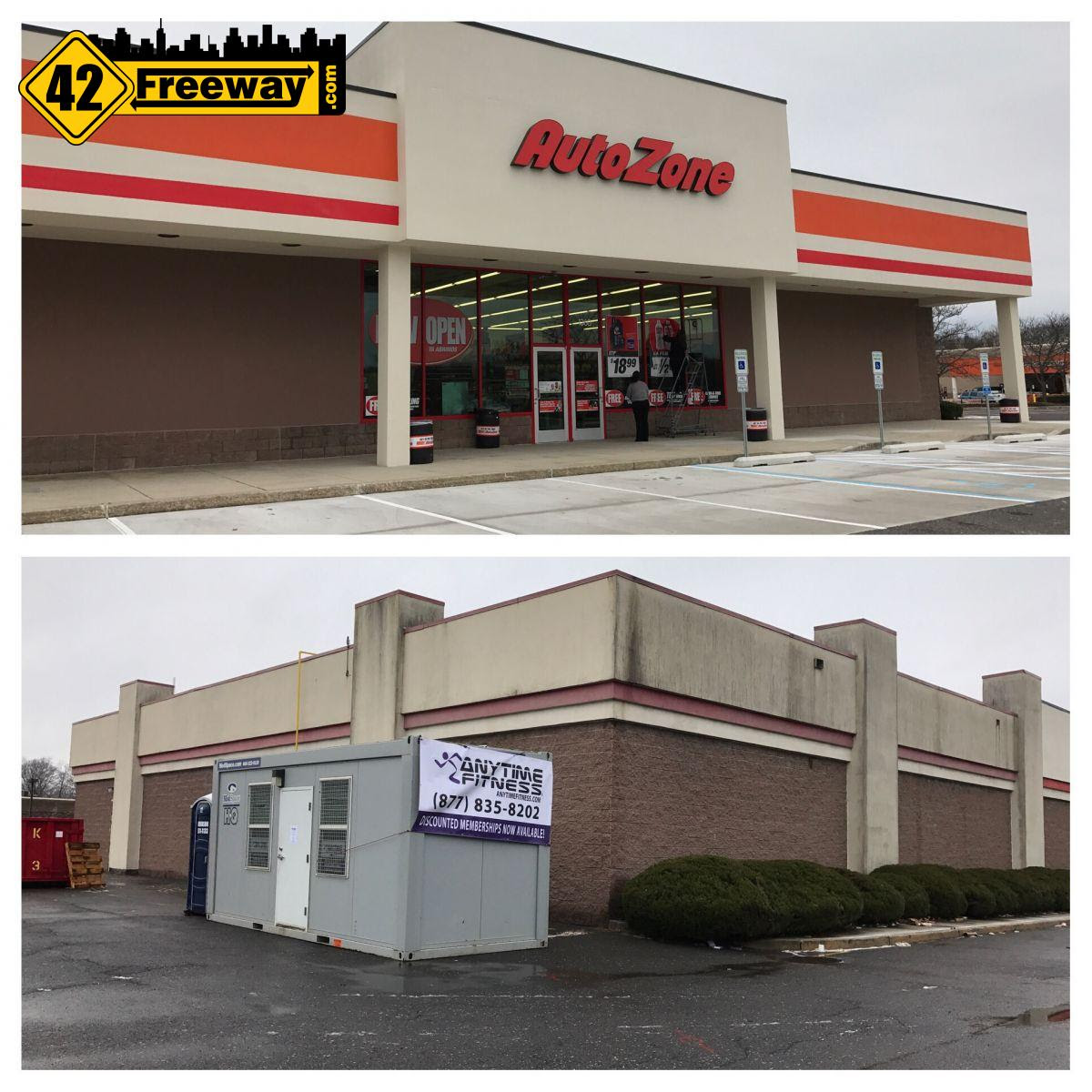 Deptford Autozone Open, Anytime Fitness coming (Home Depot ...