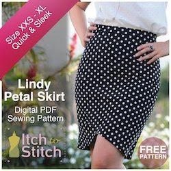 Itch To Stitch Digital Sewing Pattern Lindy Ad 250 x 250