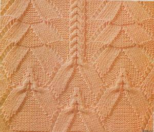 техники ажурного вязания