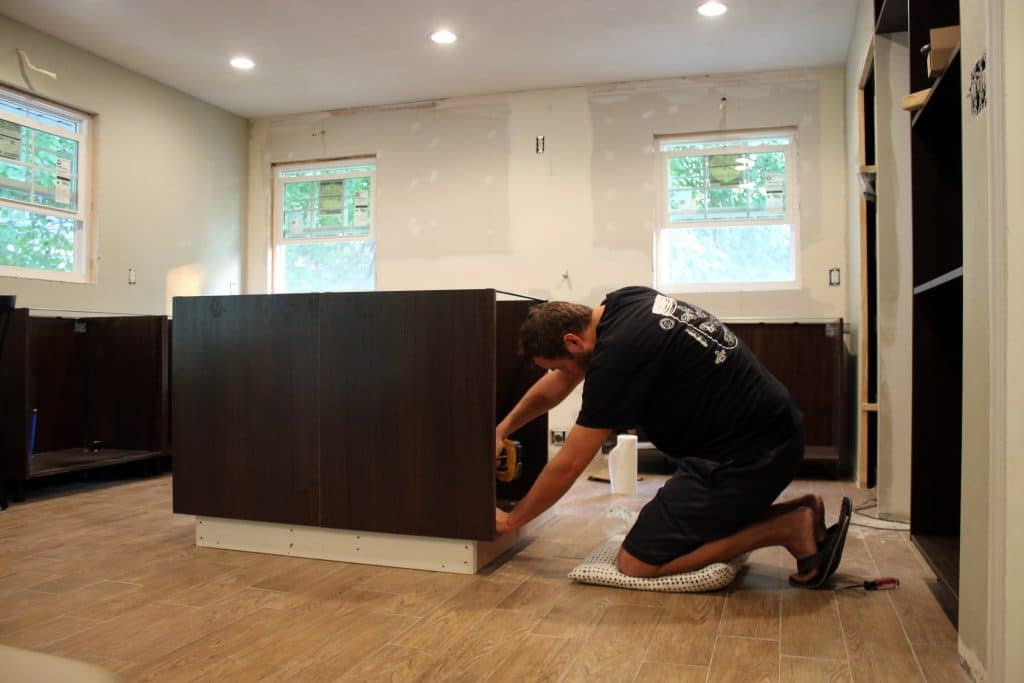 Putting Together and Installing our Ikea Sektion Cabinets ...