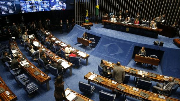 Votação do impeachment no Senado Federal