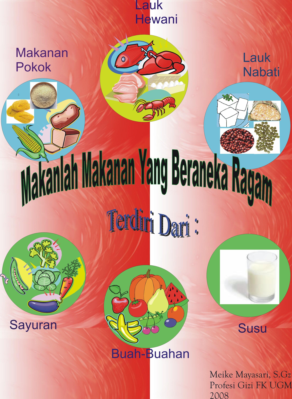 Cantik Poster Iklan Makanan Sehat Dan Bergizi Koleksi Poster