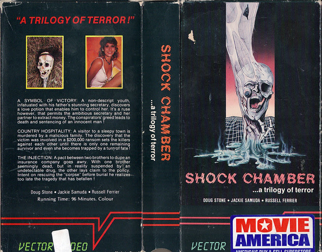 Shock Chamber (VHS Box Art)