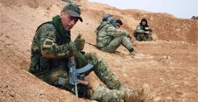 Arges Artiaga, el militar gallego que se propuesto crear un nuevo grupo de combate contra el ISIS.