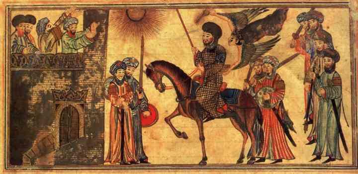 Maomé faz a Hégira e recebe a submissão (conversão ao islamismo) de Banu Nadir