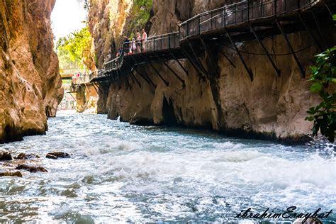 stock photo  antalya fethiye kas saklikent kanyonu