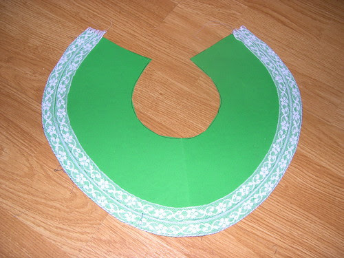 The lace yoke