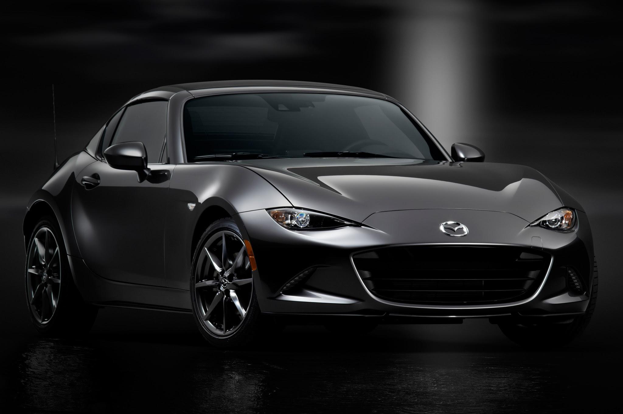 Pre-orders for the 2017 Mazda MX-5 Miata RF begin early summer 2016 ...