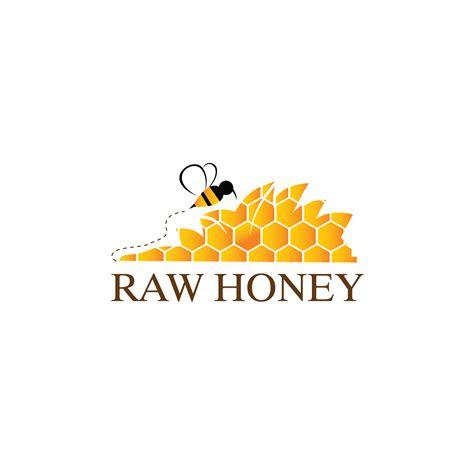 elegant upmarket food production logo design  raw