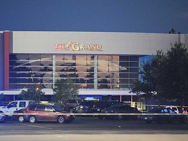 Fachada do Grand Theatre, em Lafayette (Foto: Brad Kemp / The Advocate / via AP Photo)