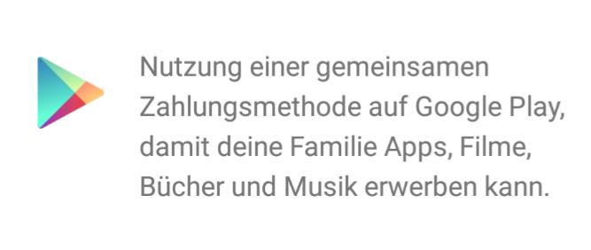 Familie Bild: Google Play Familie Zahlungsmethode Andern