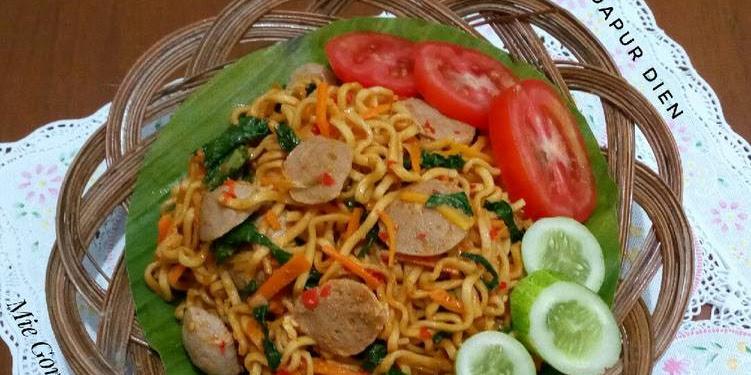 Resep Mie Goreng Jawa Pedas Oleh Dapur Dien