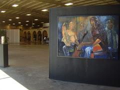 The Quartet by Leonard Maiden Oil on Wood $3600